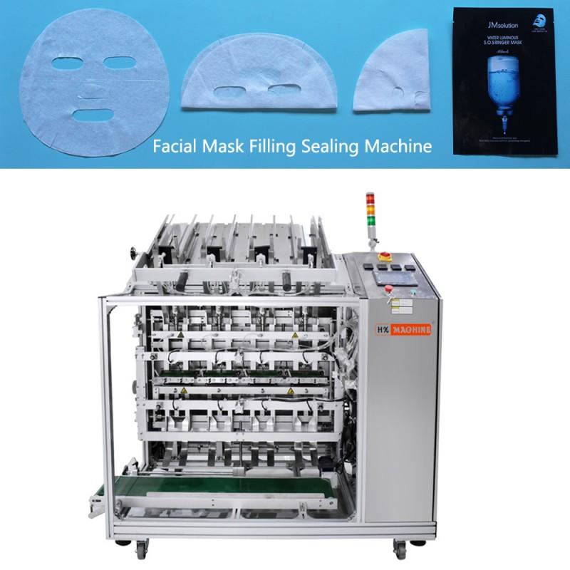 HX-600 Automatic Facial Mask Filling Sealing Machine