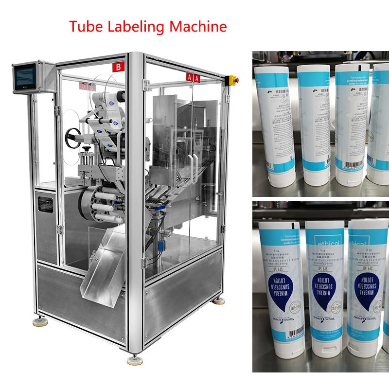 Automatic Tube Labeling Machine
