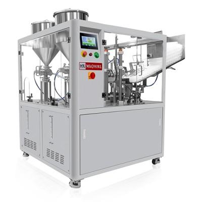 HX-009S Double Tube Fully Automatic Ultrasonic Tube Filling and Sealing Machine