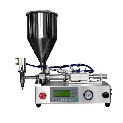 H12-1 Rotary Valve Ceramic Plunger Pump Filling Machine