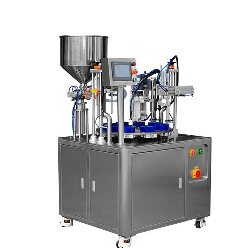 HX-006FC Semi Automtatic Bottle Filling and Capping Machine