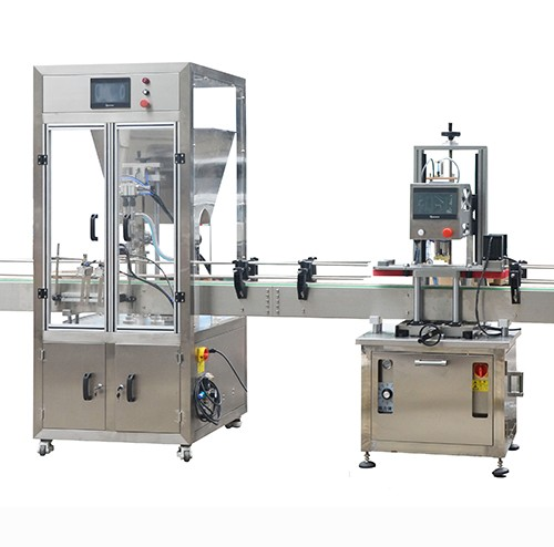 HX-20AF Automatic Bottle Filling And Capping Machine
