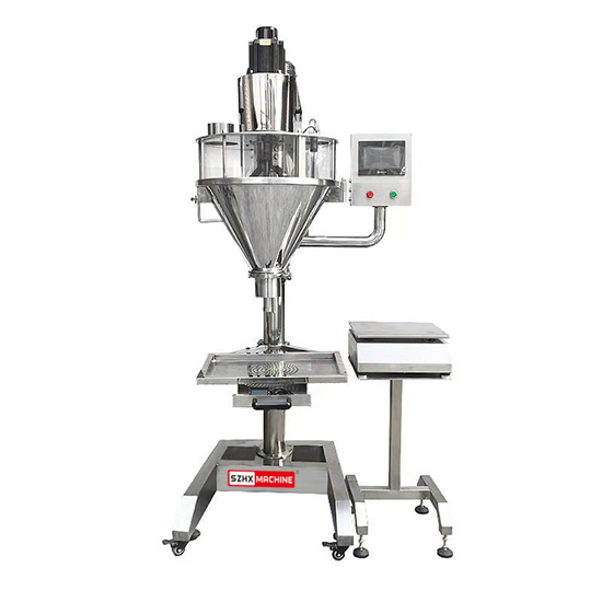 Semi-Automatic Powder Filling Machine