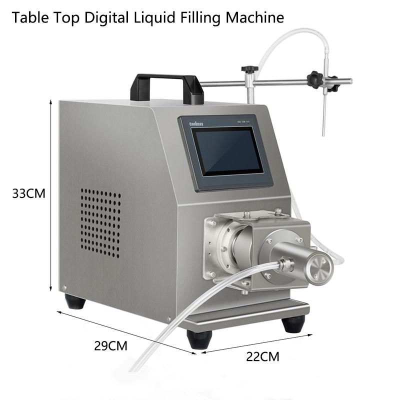 Table Top Digital Control Liquid Filling Machine