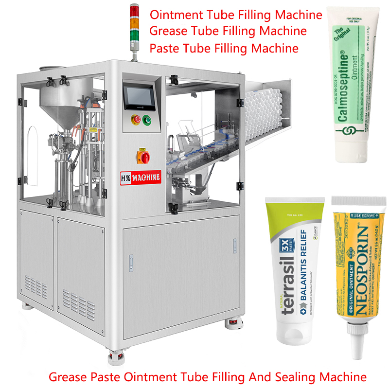 Ointment Filling Machine, Ointment Tube Filling Machine, Grease Tube Filling Machine, Paste Tube Filling Machine